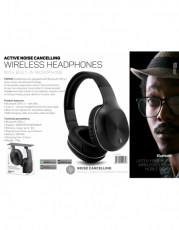 FREESTYLE HEADSET BLUETOOTH FH0928 NOISE CANCELLING BLACK [44461]